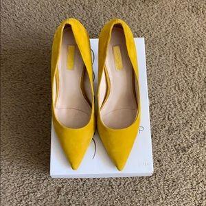 Top shop yellow heels